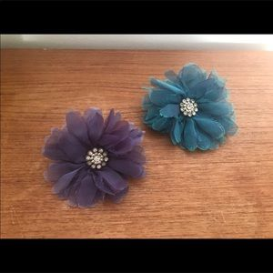 💙💜2 Gorgeous Brooches/Clips Duo💜💙